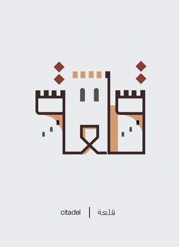 Illustrations : Des mots arabes illustrés 8