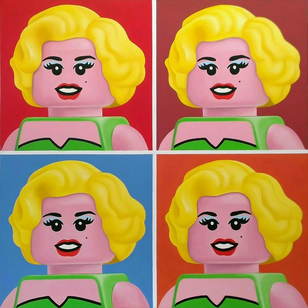 Illustrations : Des célébrités en LEGO 7