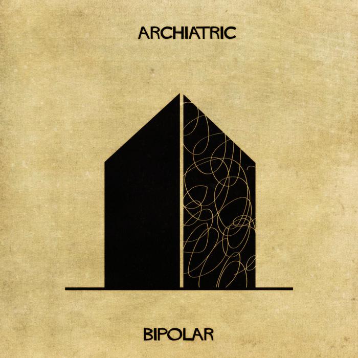 Illustrations : Maladies mentales expliquées grâce à l'architecture 10