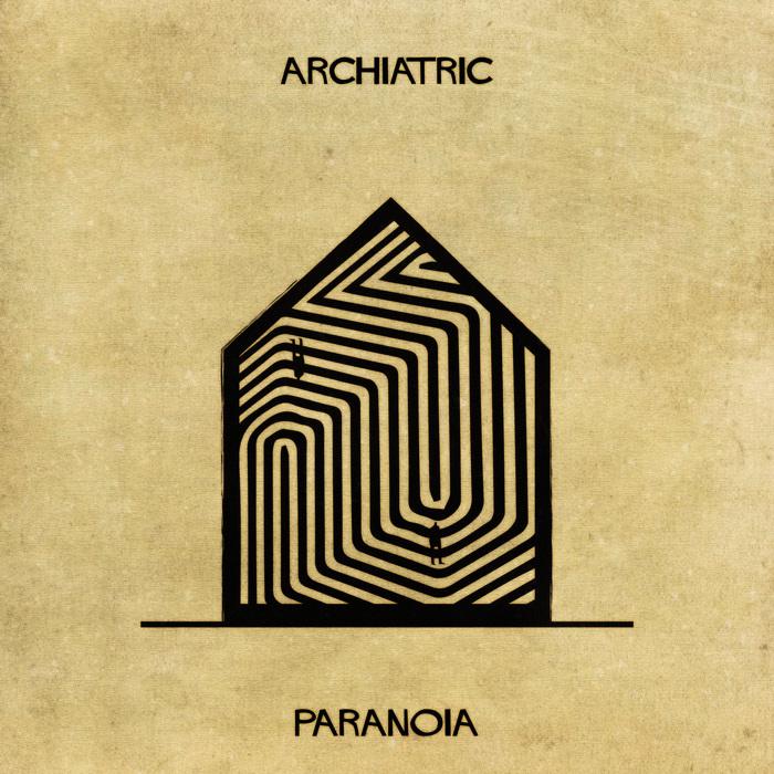 Illustrations : Maladies mentales expliquées grâce à l'architecture 11