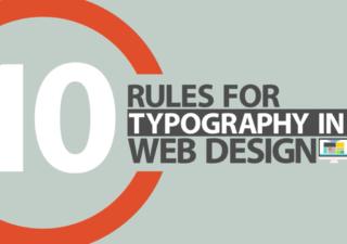 Les 10 règles de typographie en Webdesign 1