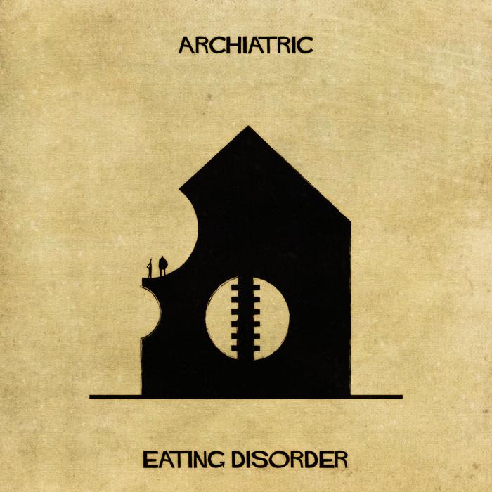 Illustrations : Maladies mentales expliquées grâce à l'architecture 12