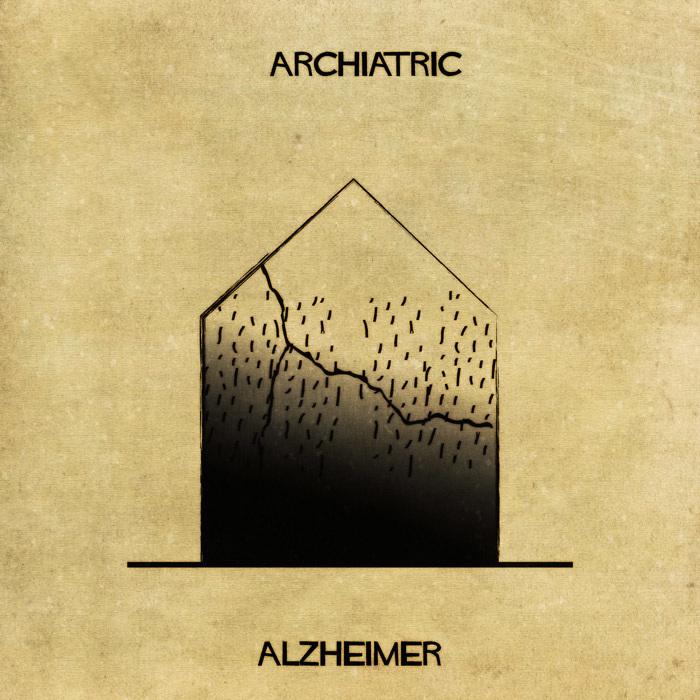 Illustrations : Maladies mentales expliquées grâce à l'architecture 13