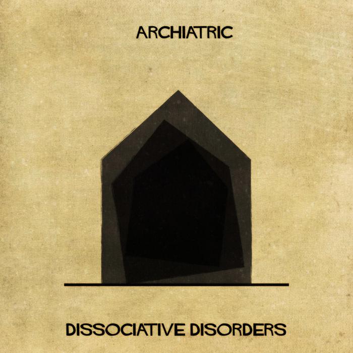 Illustrations : Maladies mentales expliquées grâce à l'architecture 15