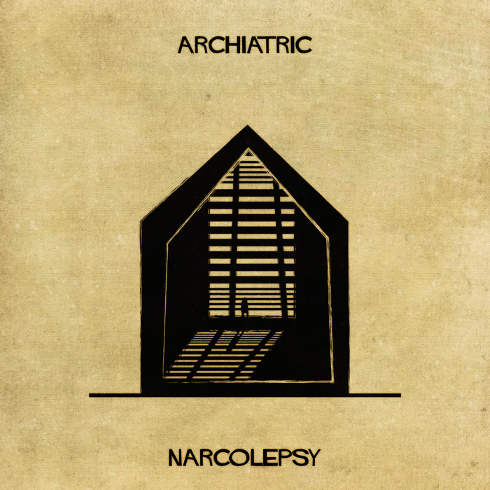 Illustrations : Maladies mentales expliquées grâce à l'architecture 16