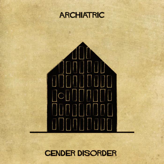 Illustrations : Maladies mentales expliquées grâce à l'architecture 17