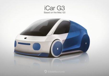 Les produits APPLE créés en forme de voiture 1