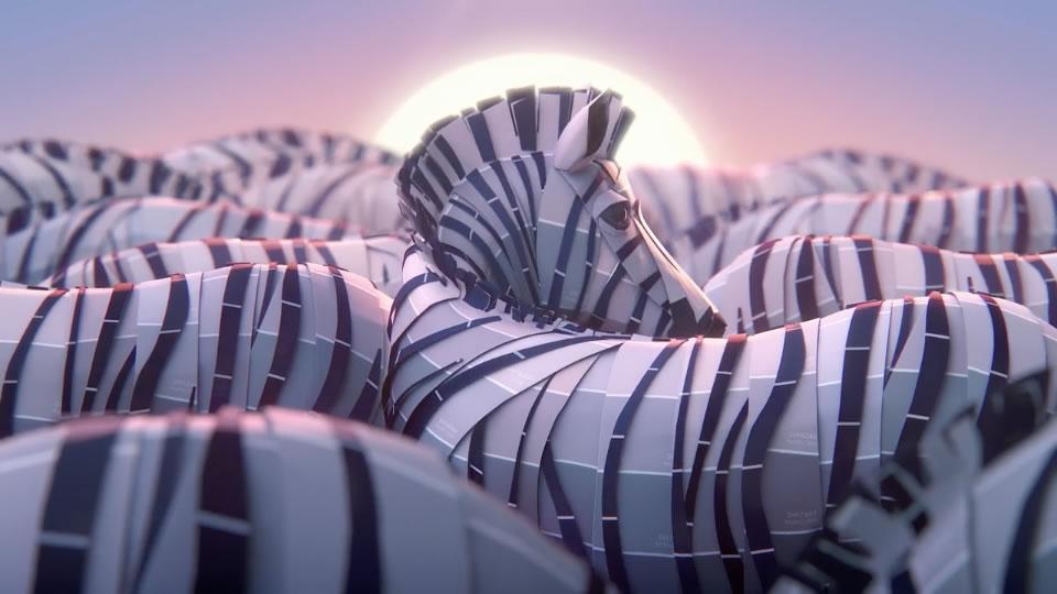 La claque visuelle : Safari : Les plus belles publicités pour des couleurs 2