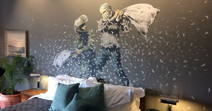 BANKSY Décore le Walled Off Hotel 2