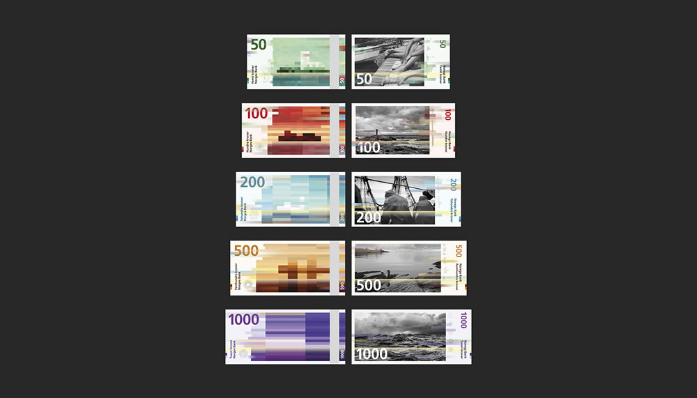Billets de banques de Norvège 2017