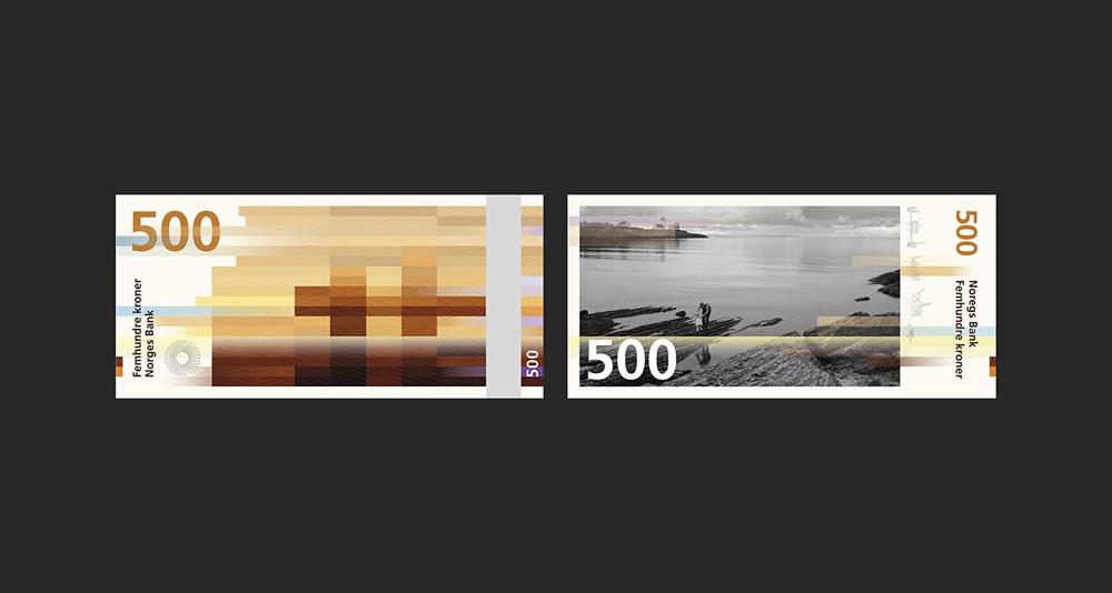 Billets de 500 - banques de Norvège 2017