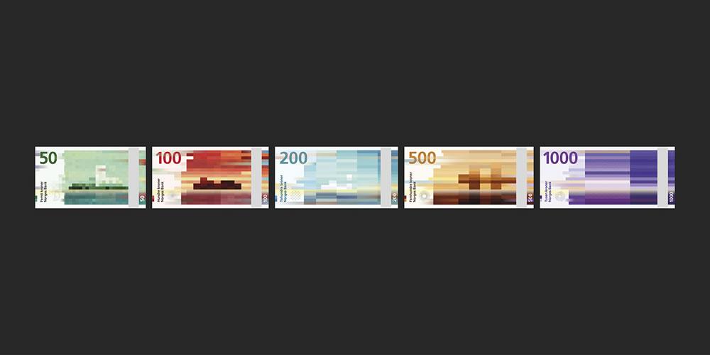 Billets banque de Norvège 2017