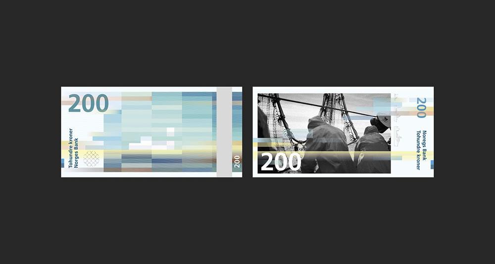 Billets de 200 - banque de Norvège 2017