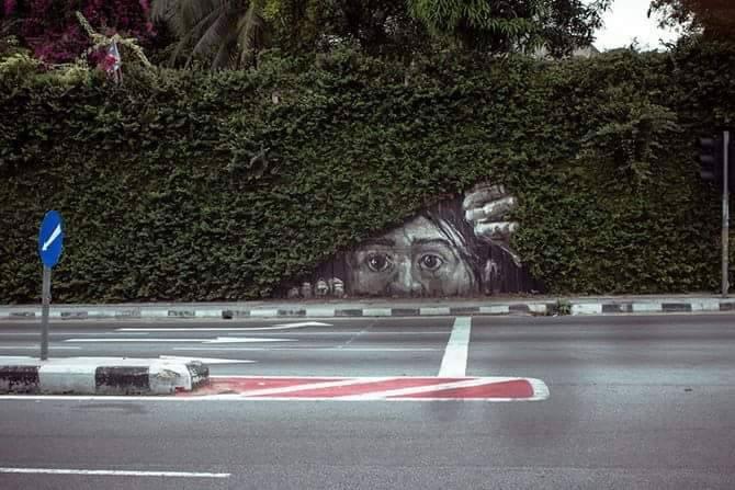 70 street-art fun et créatifs – Vol 20 21