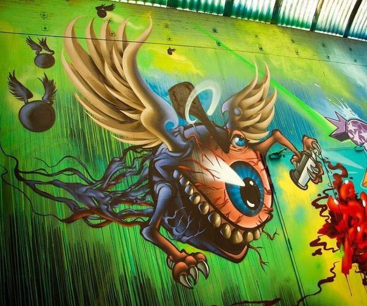 70 street-art fun et créatifs – Vol 20 44
