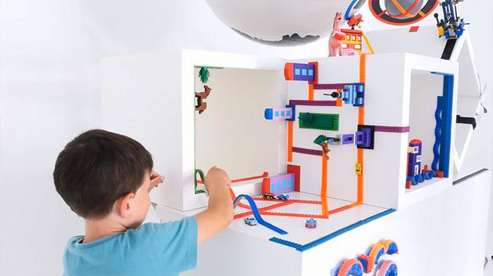 [Projet] Un scotch LEGO, transformez tout en surface à jeu 3