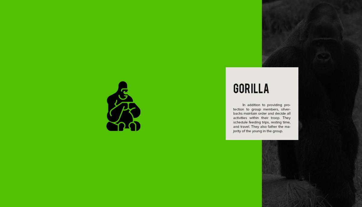 Les logos minimalistes d'animaux en voie de disparition 2