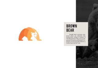 Les logos minimalistes d'animaux en voie de disparition