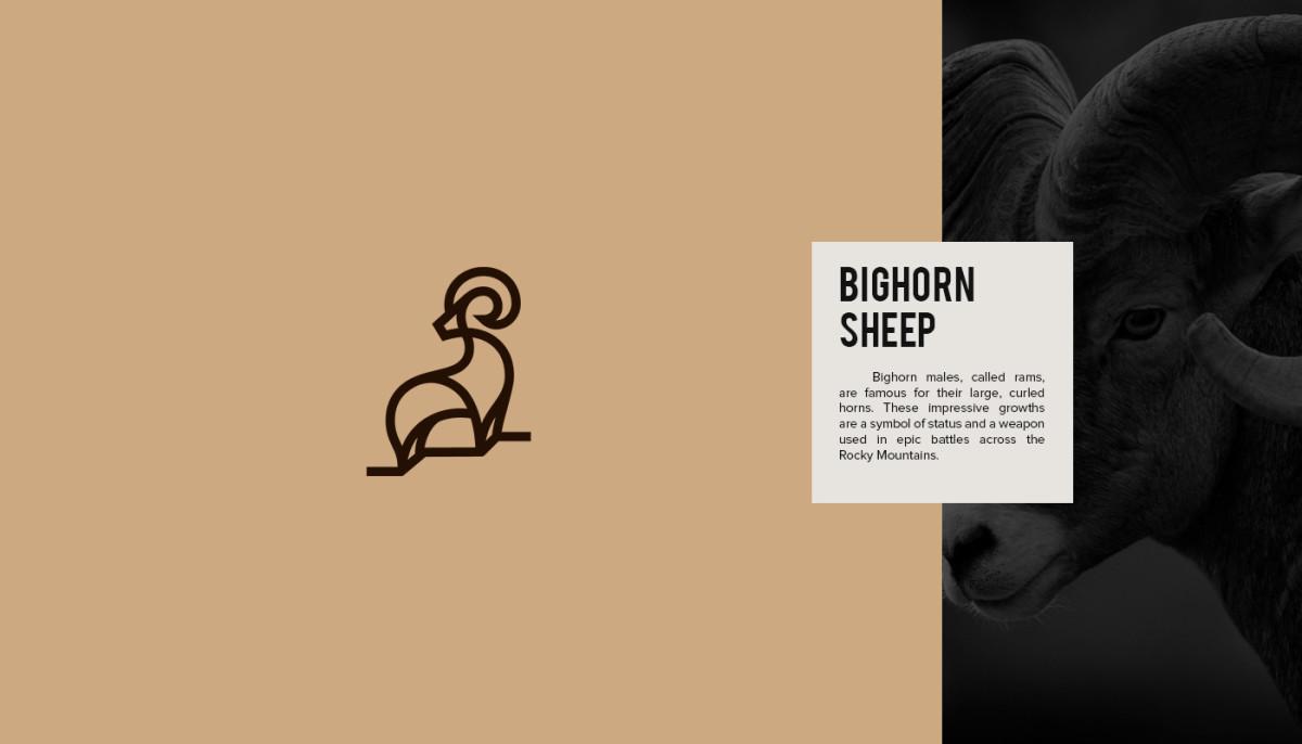 Les logos minimalistes d'animaux en voie de disparition 18