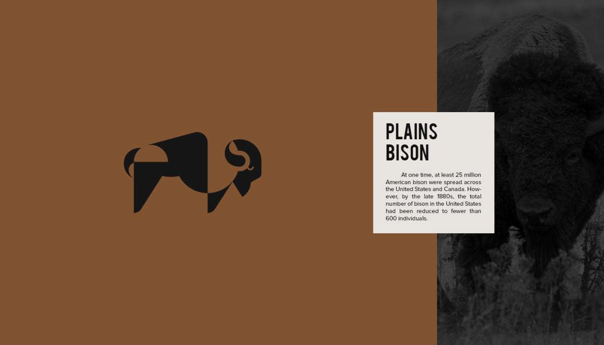 Les logos minimalistes d'animaux en voie de disparition 20