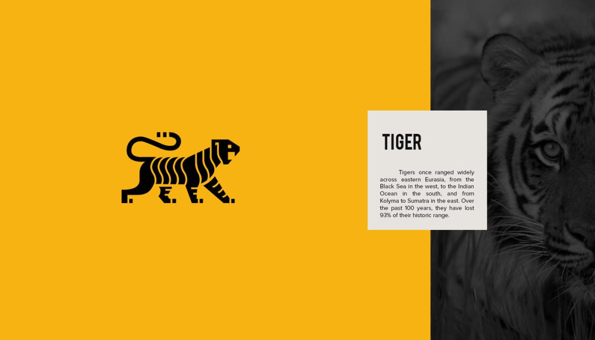Les logos minimalistes d'animaux en voie de disparition 5