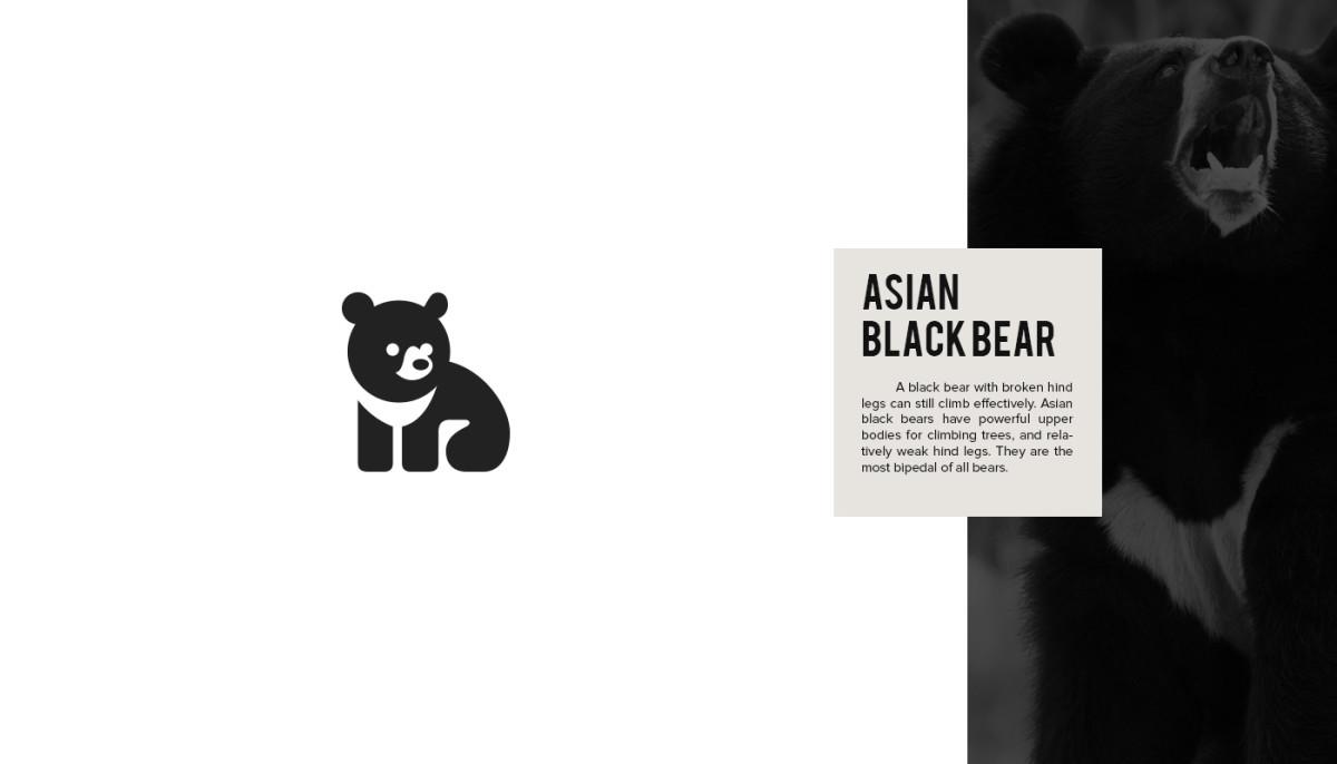 Les logos minimalistes d'animaux en voie de disparition 6
