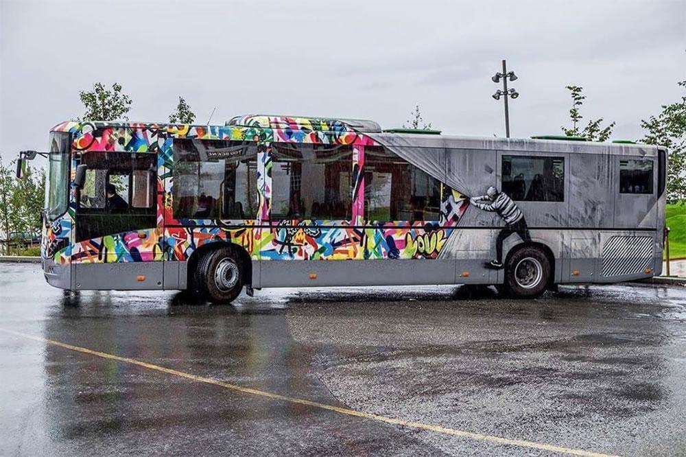 Mashup entre l'Art et StreetArt (Graffiti) - Le combo gagnant de créativité par Martin Whatson 9