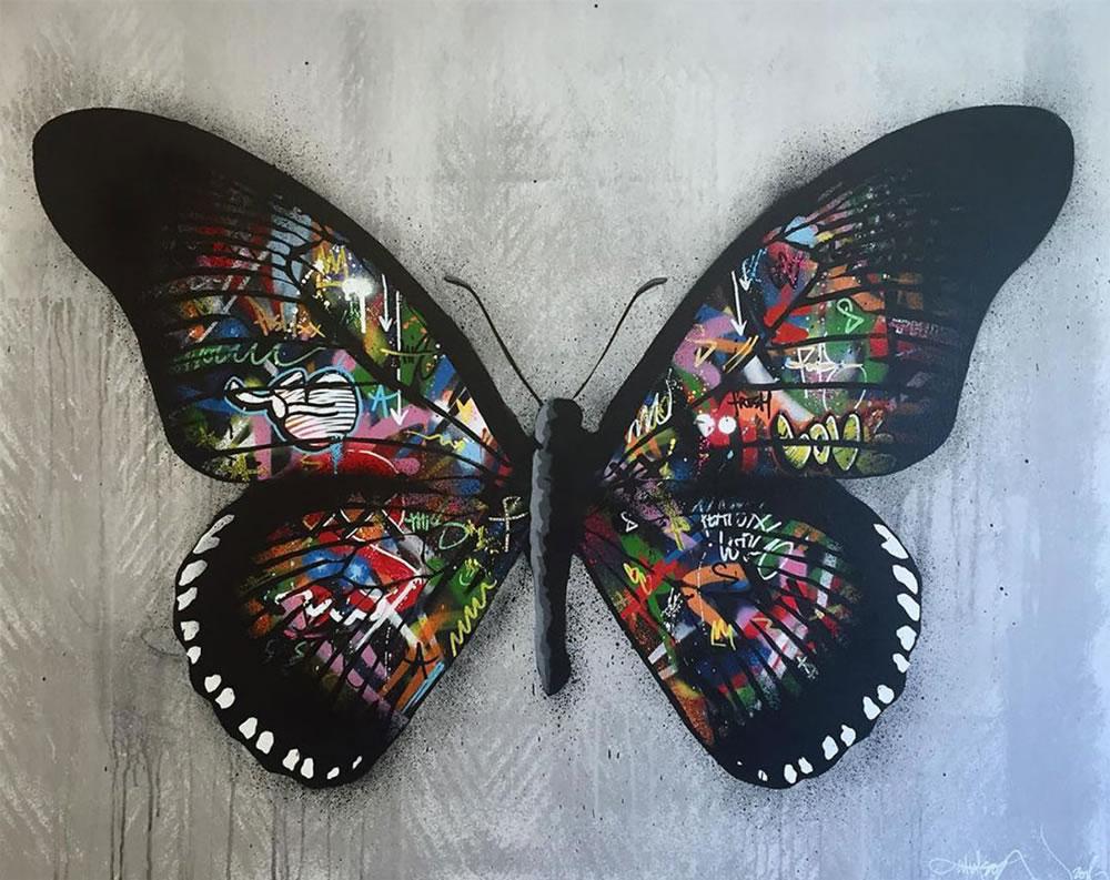 Mashup entre l'Art et StreetArt (Graffiti) - Le combo gagnant de créativité par Martin Whatson 8