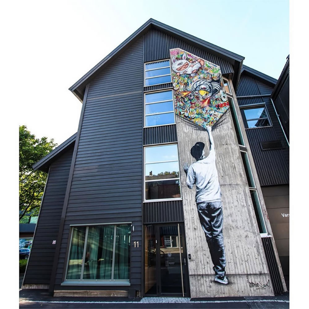 Mashup entre l'Art et StreetArt (Graffiti) - Le combo gagnant de créativité par Martin Whatson 7