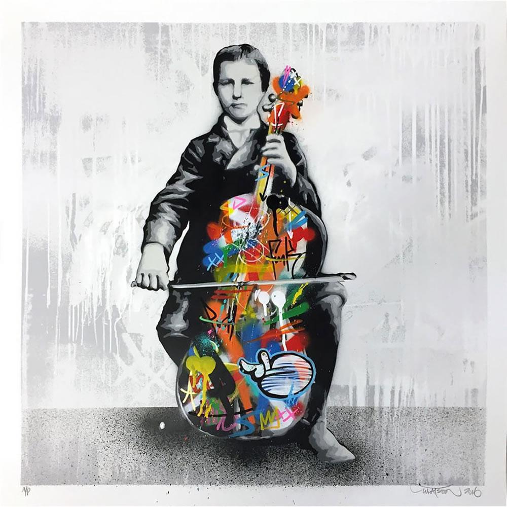Mashup entre l'Art et StreetArt (Graffiti) - Le combo gagnant de créativité par Martin Whatson 6