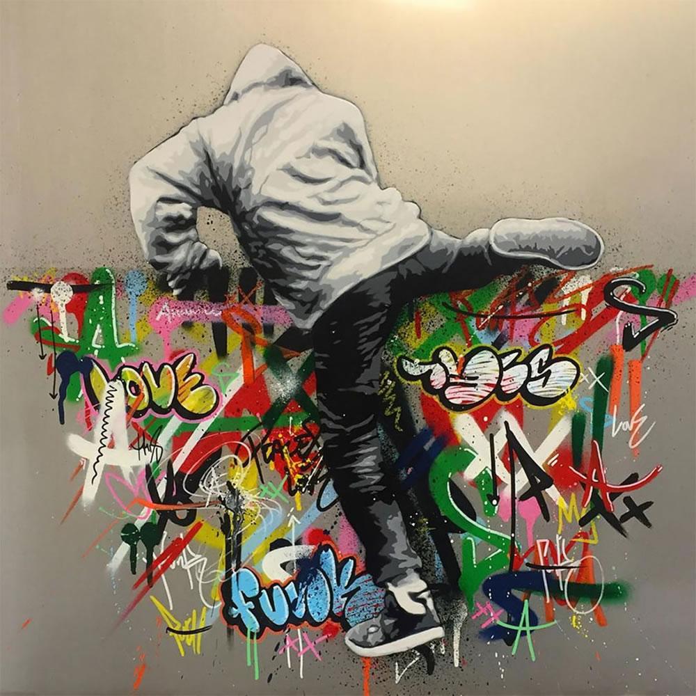 Mashup entre l'Art et StreetArt (Graffiti) - Le combo gagnant de créativité par Martin Whatson 4