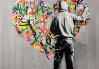 Mashup entre l'Art et StreetArt (Graffiti) - Le combo gagnant de créativité par Martin Whatson