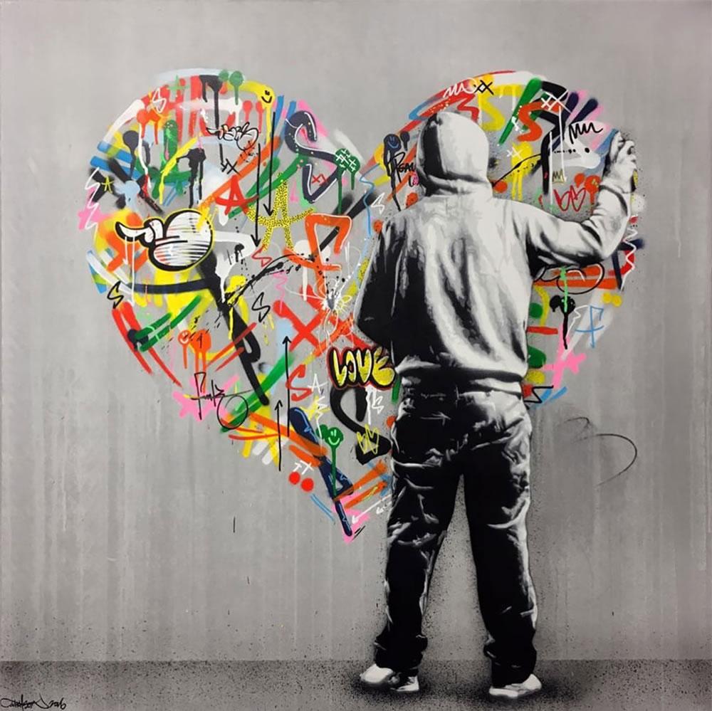 Mashup entre l'Art et StreetArt (Graffiti) - Le combo gagnant de créativité par Martin Whatson 17