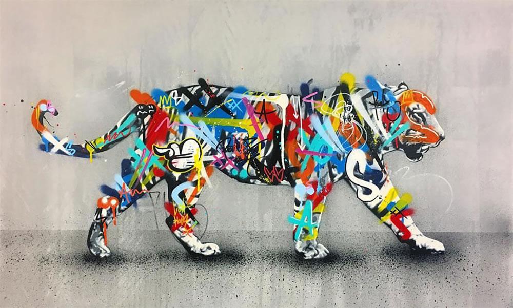 Mashup entre l'Art et StreetArt (Graffiti) - Le combo gagnant de créativité par Martin Whatson 16