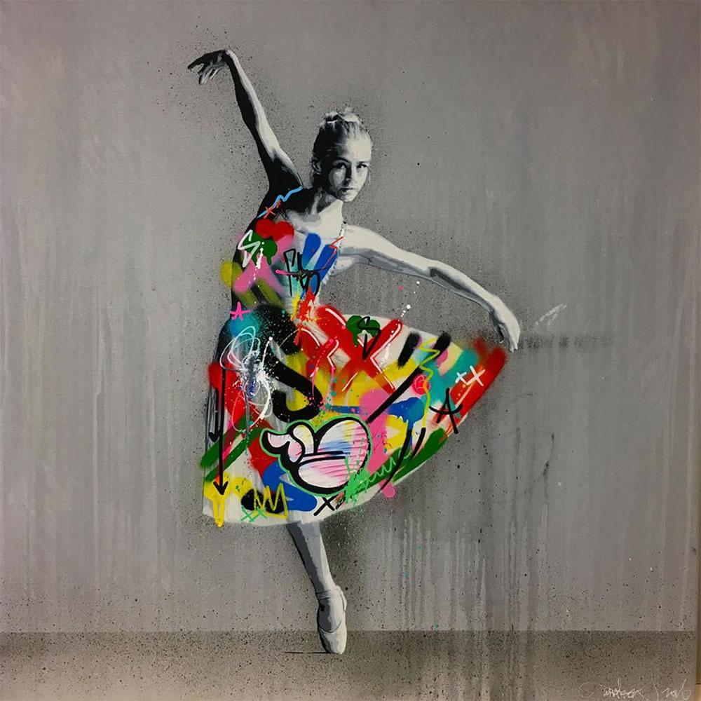 Mashup entre l'Art et StreetArt (Graffiti) - Le combo gagnant de créativité par Martin Whatson 15