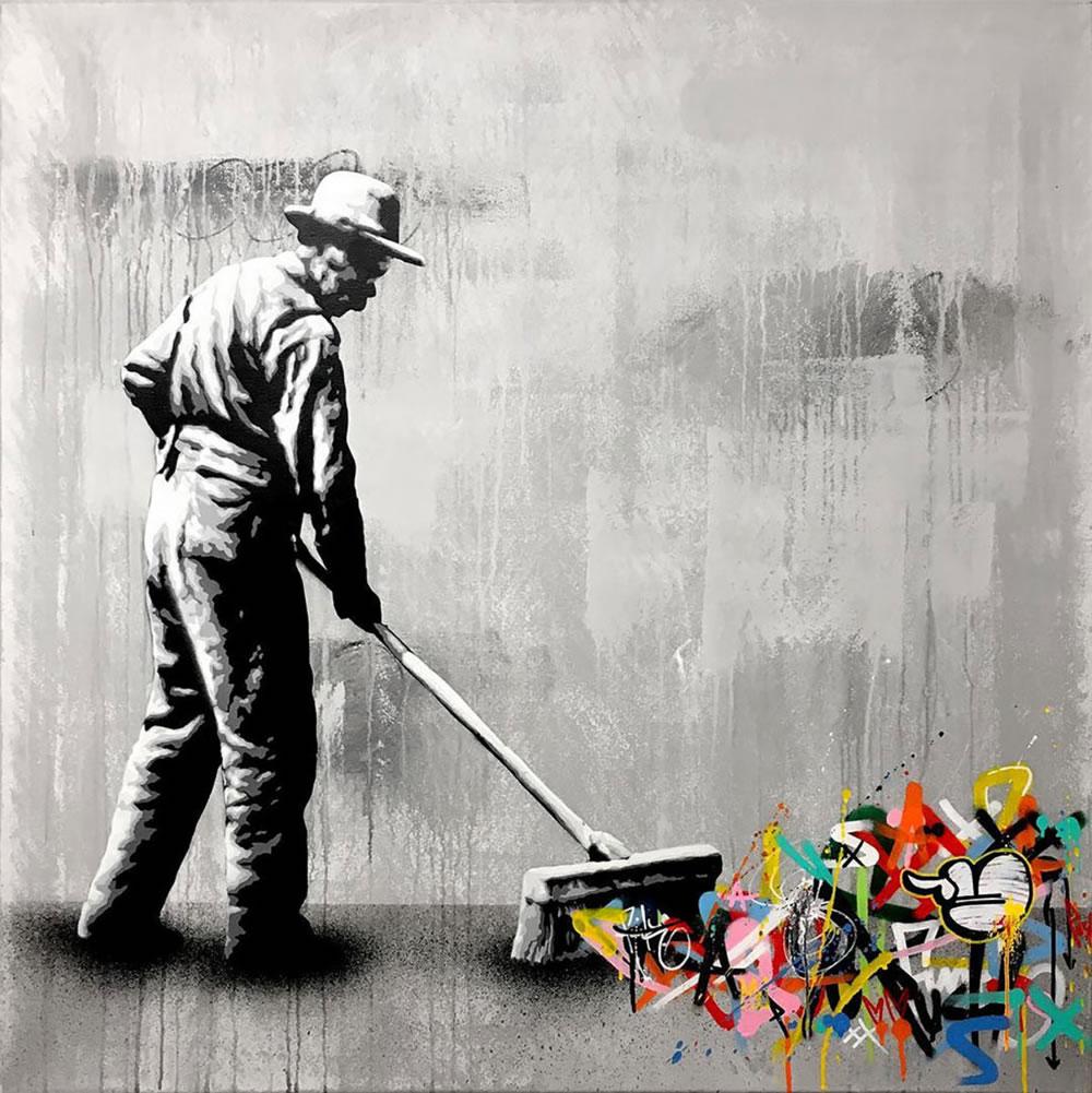 Mashup entre l'Art et StreetArt (Graffiti) - Le combo gagnant de créativité par Martin Whatson 14