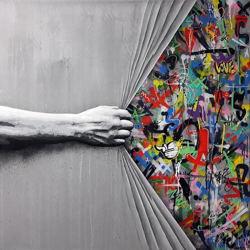 Mashup entre l'Art et StreetArt (Graffiti) - Le combo gagnant de créativité par Martin Whatson 12