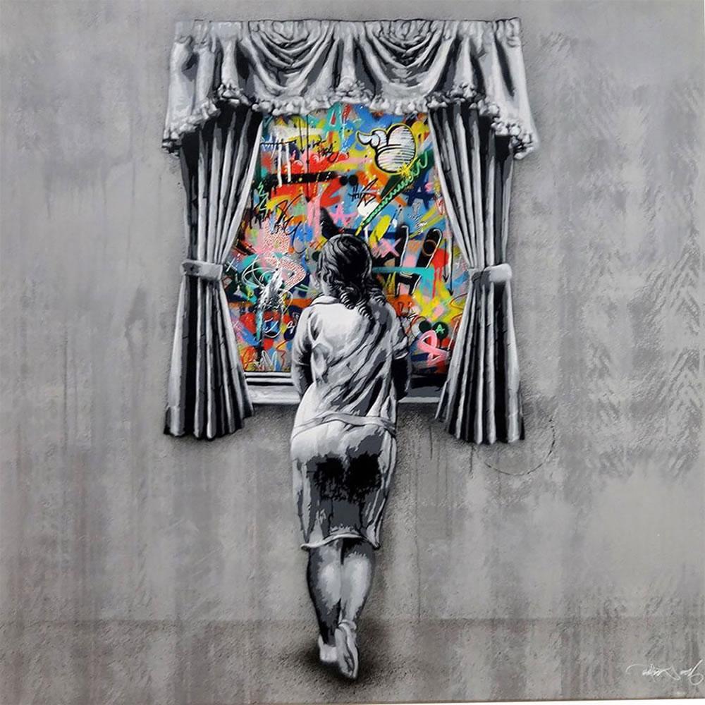 Mashup entre l'Art et StreetArt (Graffiti) - Le combo gagnant de créativité par Martin Whatson 11