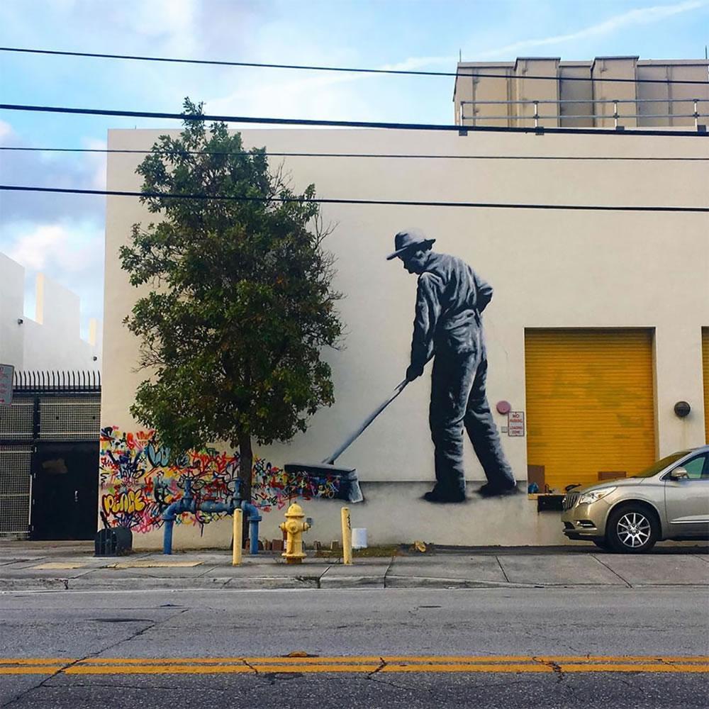 Mashup entre l'Art et StreetArt (Graffiti) - Le combo gagnant de créativité par Martin Whatson 10