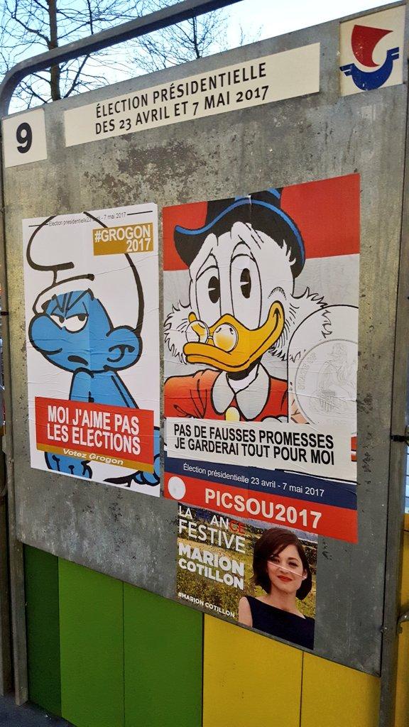 [Parodie] Les meilleures (fausses) affiches des présidentielles 2017 10