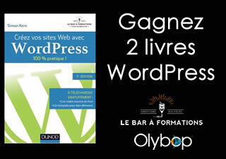 """[Concours] Gagnez 2 livres pour """"Créer son site web avec Wordpress"""""""