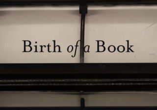 Birth of a Book - Comment est fabriqué et imprimé un livre ?