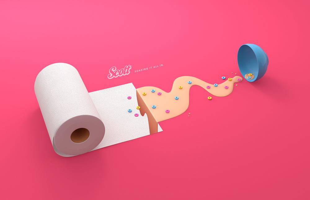 Inspiration - 60 publicités créatives de Mars 2017 58