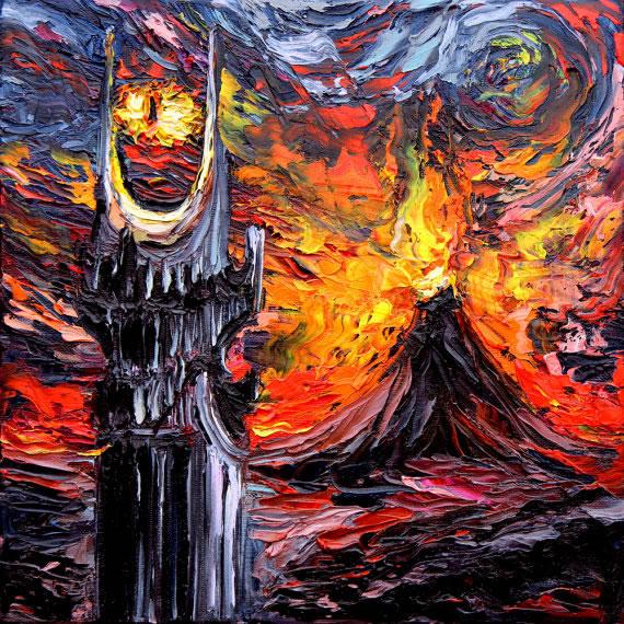 Peinture - Le mélange parfait entre Van Gogh et la POP Culture 2