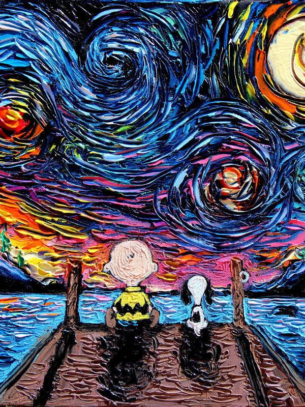 Peinture - Le mélange parfait entre Van Gogh et la POP Culture 12