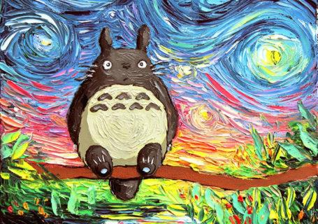 Peinture - Le mélange parfait entre Van Gogh et la POP Culture 1