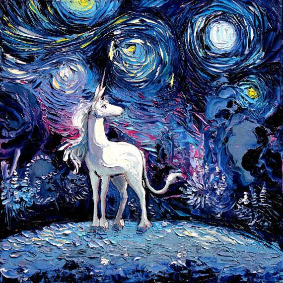 Peinture - Le mélange parfait entre Van Gogh et la POP Culture 4