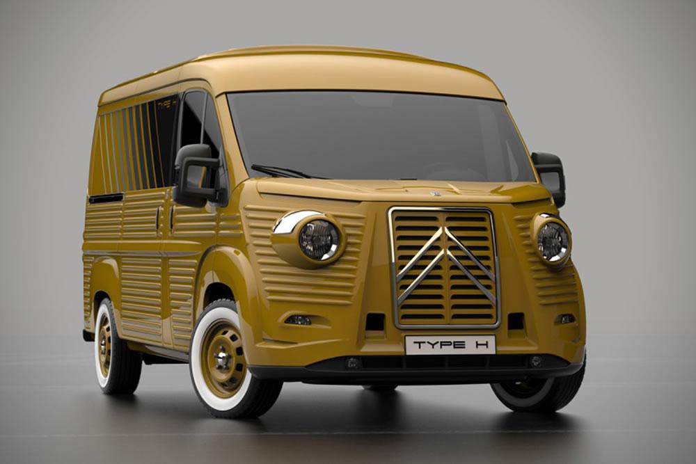 Nouveau Design pour le VAN Citroen type H pour les 70 ans 2