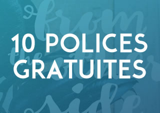 10 typographies gratuites à télécharger pour vos titres ou vos logos 1