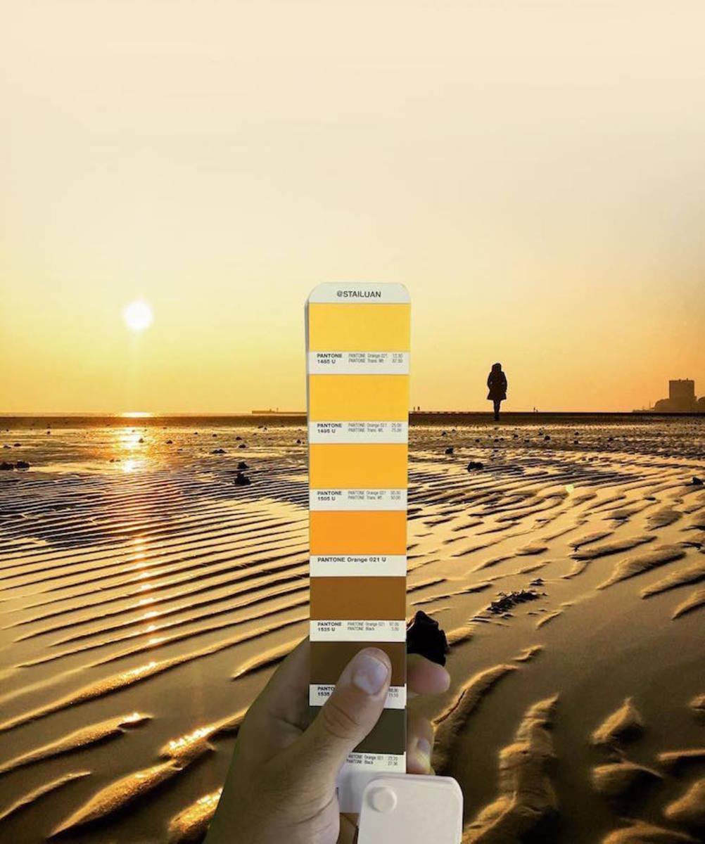 Les photos Pantone tirées de paysages de la vie 12
